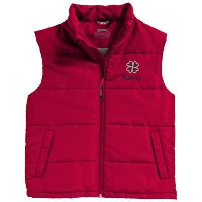 Picture of GRAVEL BODYWARMER in Red