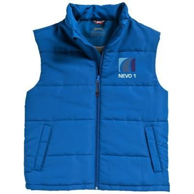 Picture of GRAVEL BODYWARMER in Light Blue