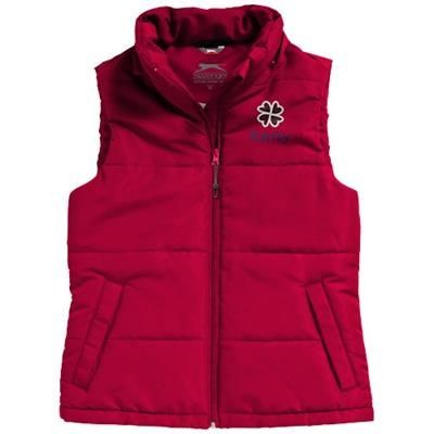 Picture of GRAVEL LADIES BODYWARMER in Red