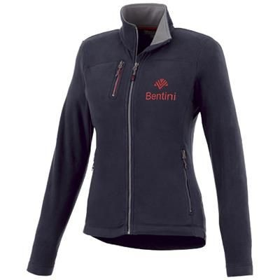 Picture of PITCH MICROFLEECE LADIES JACKET in Navy