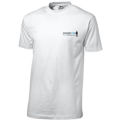 Picture of ACE SHORT SLEEVE MENS T-SHIRT in White Solid