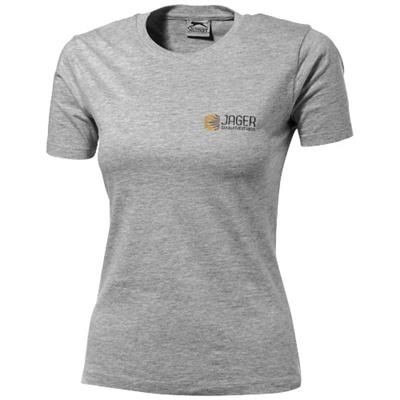 Picture of ACE SHORT SLEEVE LADIES T-SHIRT in Sports Grey
