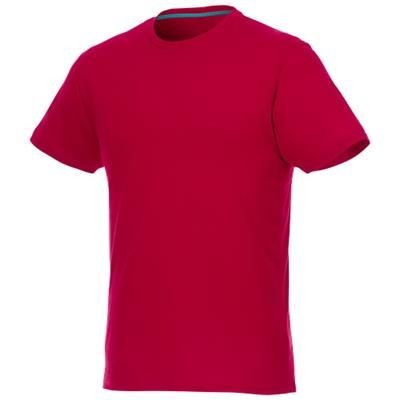 Picture of JADE SHORT SLEEVE MENS RECYCLED TEE SHIRT in Red