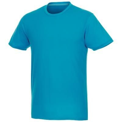 Picture of JADE SHORT SLEEVE MENS RECYCLED TEE SHIRT in Nxt Blue