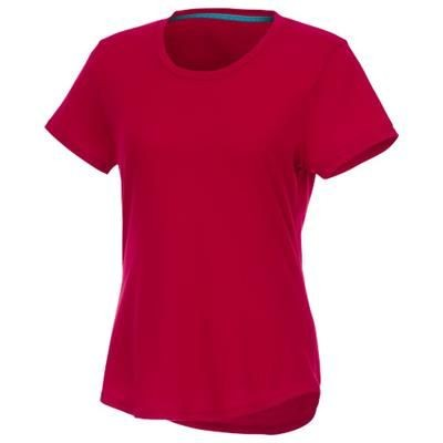 Picture of JADE SHORT SLEEVE LADIES RECYCLED T-SHIRT in Red