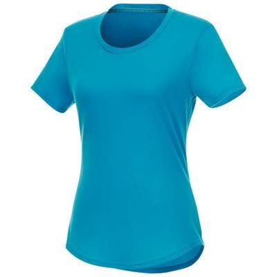 Picture of JADE SHORT SLEEVE LADIES RECYCLED T-SHIRT in Nxt Blue