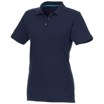 Picture of BERYL SHORT SLEEVE LADIES ORGANIC RECYCLED POLO in Navy