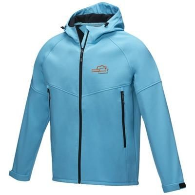Picture of COLTAN MENS GRS RECYCLED SOFTSHELL JACKET XS in Nxt Blue