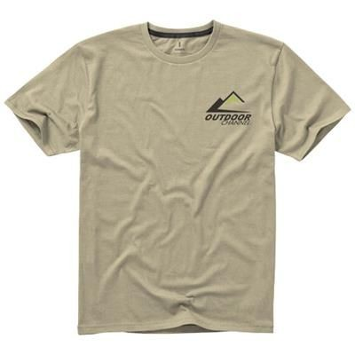 Picture of NANAIMO SHORT SLEEVE MENS T-SHIRT in Khaki
