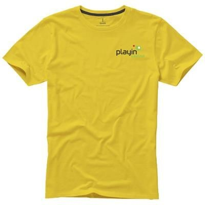 Picture of NANAIMO SHORT SLEEVE MENS T-SHIRT in Yellow