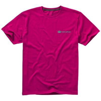Picture of NANAIMO SHORT SLEEVE MENS T-SHIRT in Pink