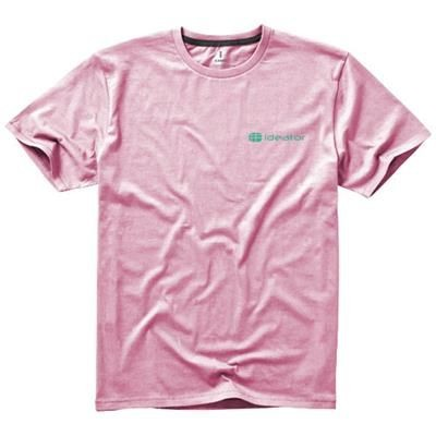 Picture of NANAIMO SHORT SLEEVE MENS T-SHIRT in Light Pink