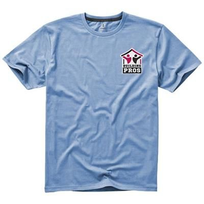 Picture of NANAIMO SHORT SLEEVE MENS T-SHIRT in Light Blue