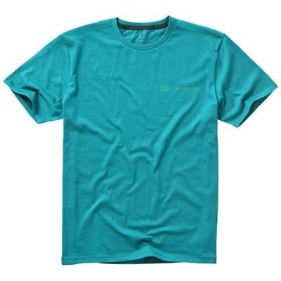 Picture of NANAIMO SHORT SLEEVE MENS T-SHIRT in Aqua