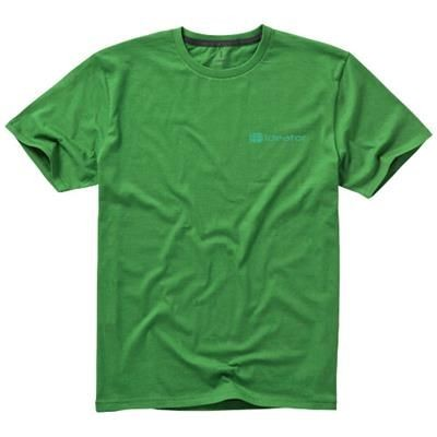 Picture of NANAIMO SHORT SLEEVE MENS T-SHIRT in Fern Green