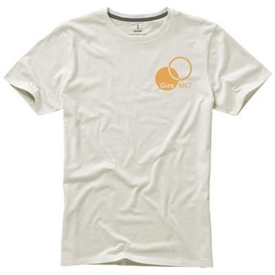 Picture of NANAIMO SHORT SLEEVE MENS T-SHIRT in Pale Grey