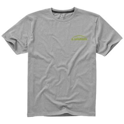 Picture of NANAIMO SHORT SLEEVE MENS T-SHIRT in Grey Melange
