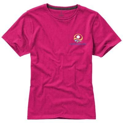 Picture of NANAIMO SHORT SLEEVE LADIES T-SHIRT in Pink