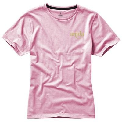 Picture of NANAIMO SHORT SLEEVE LADIES T-SHIRT in Light Pink