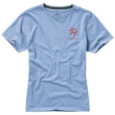 Picture of NANAIMO SHORT SLEEVE LADIES T-SHIRT in Light Blue