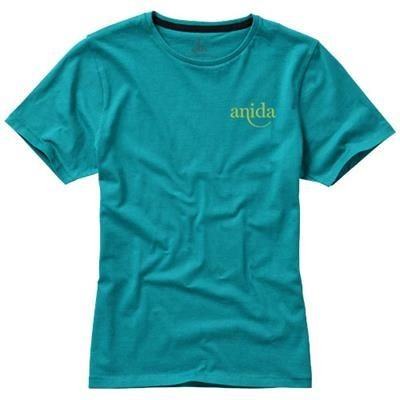 Picture of NANAIMO SHORT SLEEVE LADIES T-SHIRT in Aqua