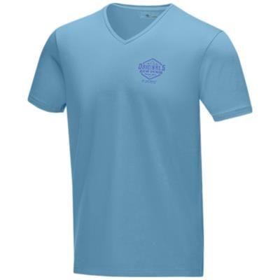 Picture of KAWARTHA SHORT SLEEVE MENS GOTS ORGANIC T-SHIRT XS in Nxt Blue
