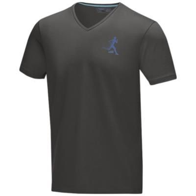 Picture of KAWARTHA SHORT SLEEVE MENS GOTS ORGANIC T-SHIRT XS in Storm Grey