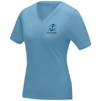 Picture of KAWARTHA SHORT SLEEVE LADIES GOTS ORGANIC T-SHIRT XS in Nxt Blue