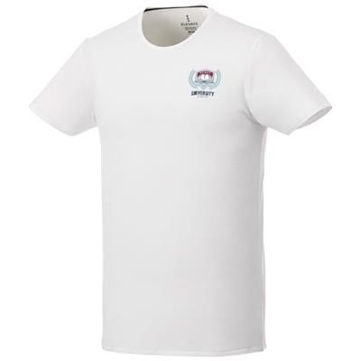 Picture of BALFOUR SHORT SLEEVE MENS ORGANIC T-SHIRT in White Solid