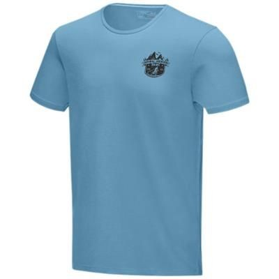 Picture of BALFOUR SHORT SLEEVE MENS GOTS ORGANIC T-SHIRT XS in Nxt Blue