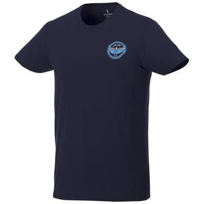 Picture of BALFOUR SHORT SLEEVE MENS ORGANIC T-SHIRT in Navy