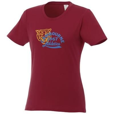 Picture of HEROS LDS TEE SHIRT BURGUNDYXS in Burgundy