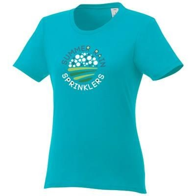 Picture of HEROS LDS TEE SHIRT AQUA XS in Aqua