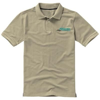 Picture of CALGARY SHORT SLEEVE MENS POLO in Khaki