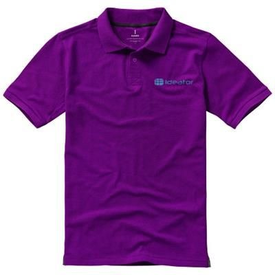Picture of CALGARY SHORT SLEEVE MENS POLO in Plum