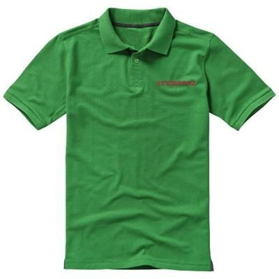Picture of CALGARY SHORT SLEEVE MENS POLO in Fern Green