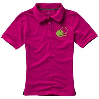 Picture of CALGARY SHORT SLEEVE LADIES POLO in Pink