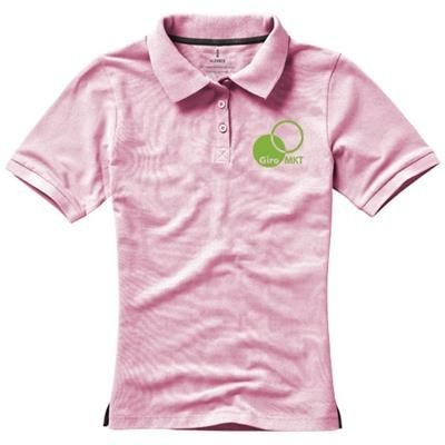 Picture of CALGARY SHORT SLEEVE LADIES POLO in Light Pink