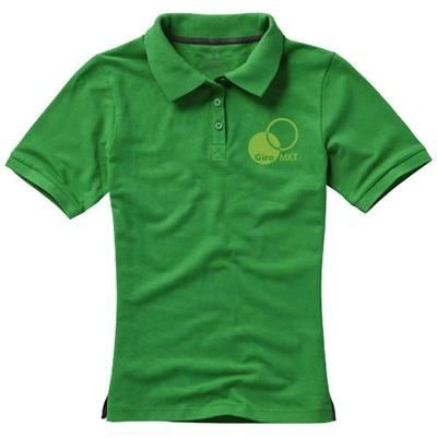 Picture of CALGARY SHORT SLEEVE LADIES POLO in Fern Green