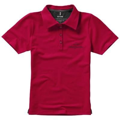 Picture of MARKHAM SHORT SLEEVE LADIES STRETCH POLO in Red