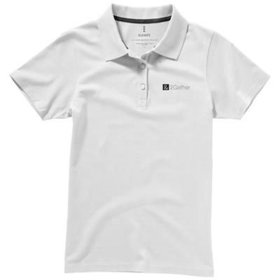 Picture of SELLER SHORT SLEEVE LADIES POLO XS in White