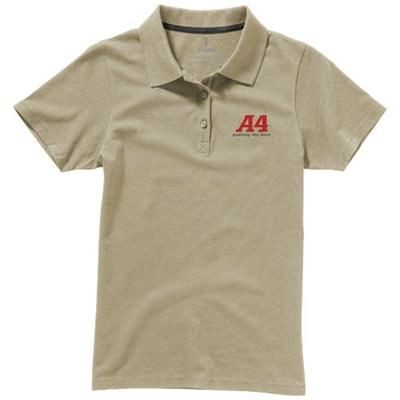 Picture of SELLER SHORT SLEEVE LADIES POLO XS in Khaki