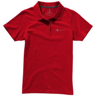 Picture of SELLER SHORT SLEEVE LADIES POLO S in Red