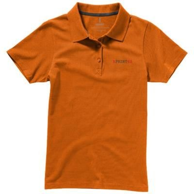 Picture of SELLER SHORT SLEEVE LADIES POLO XS in Orange