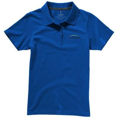 Picture of SELLER SHORT SLEEVE LADIES POLO XS in Blue