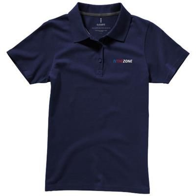 Picture of SELLER SHORT SLEEVE LADIES POLO XS in Navy