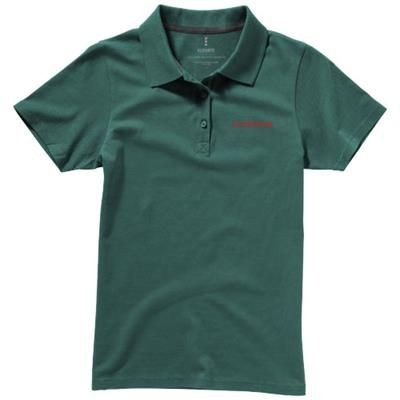 Picture of SELLER SHORT SLEEVE LADIES POLO XS in Forest Green