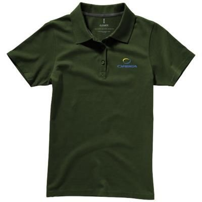 Picture of SELLER SHORT SLEEVE LADIES POLO XS in Army Green