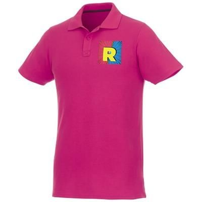 Picture of HELIOS SHORT SLEEVE MENS POLO in Magenta