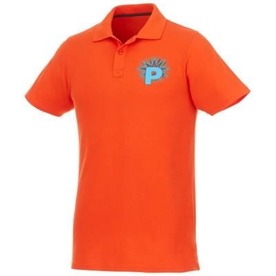 Picture of HELIOS SHORT SLEEVE MENS POLO in Orange